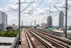 End railway station in Bangkok Royalty Free Stock Photography
