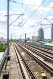 End railway station in Bangkok Royalty Free Stock Photo