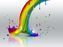 End of the rainbow Royalty Free Stock Photo