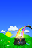 End of The Rainbow Royalty Free Stock Images