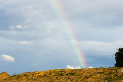 End of rainbow Royalty Free Stock Photos