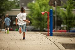 End of Recess. royalty free stock photo