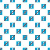 End reverse motion pattern seamless. In flat style for any design Stock Images