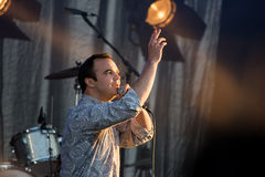 End Of The Road Festival 2015 - Future Islands Stock Images