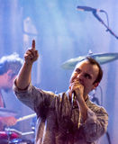 End Of The Road Festival 2015 - Future Islands Royalty Free Stock Photos