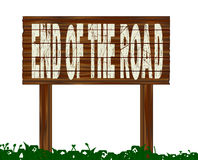 End Of The Road Royalty Free Stock Photography