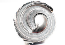 End of Rolled Magazines Stock Images
