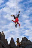 End of the rope. Royalty Free Stock Photos