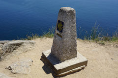 End of the Santiago trail at Cape Finisterre Stock Photography