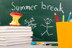 End of school. Summer break time Royalty Free Stock Photos