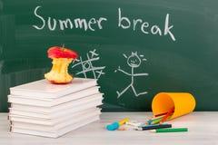 End of school. Summer break time Royalty Free Stock Image
