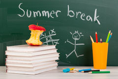 End of school. Summer break time Stock Photos