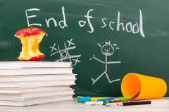 End of school. Summer break time Stock Images