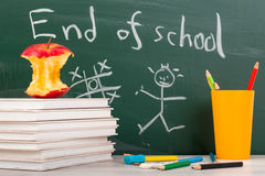 End of school. Summer break time Royalty Free Stock Photography