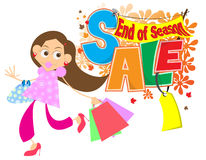 End of season sale Stock Photography