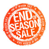 End of season sale rubber stamp Royalty Free Stock Photo