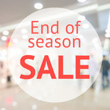 End of season sale sign Royalty Free Stock Photography