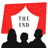 The end of the show Royalty Free Stock Photo