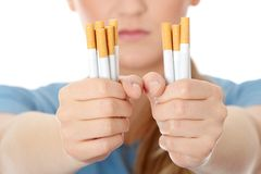 End of smoking Stock Image