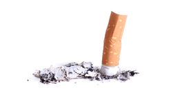 End of smoking Stock Image