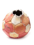 End of soccer Stock Image