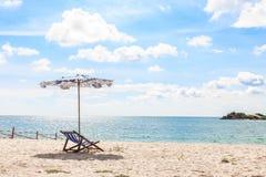 End of summer on the beach Stock Photos