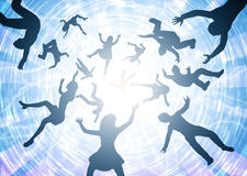 End Times Rapture Illustration Royalty Free Stock Photography