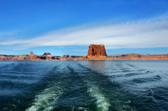 End of Trip to Lake Powell Royalty Free Stock Photo