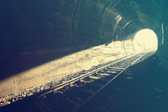 End of Tunnel Royalty Free Stock Image