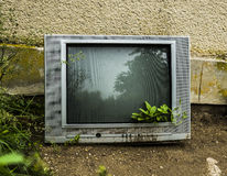 End of TV Stock Photography