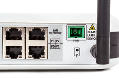 End user GPON terminal Royalty Free Stock Images