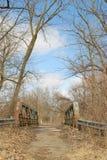 Abandoned Bridge Stock Image