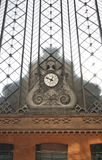 Clock in Atocha Station Madrid Royalty Free Stock Photography