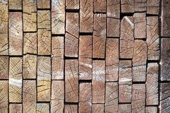 End of Wood Boards Pattern Royalty Free Stock Photo
