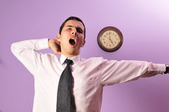 End of the working day ! Royalty Free Stock Photography