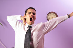 End of the working day ! Royalty Free Stock Images