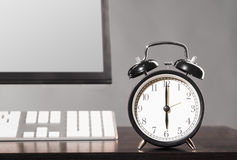 End of work day. Royalty Free Stock Photos