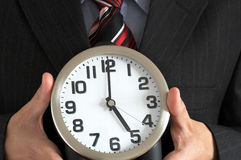 End of working hours Royalty Free Stock Photo