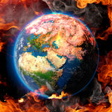 The End of the world Stock Photo