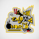 End of the world Royalty Free Stock Image