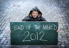 End of the world. 2012 Stock Photos