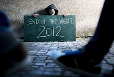 End of the world. 2012 Royalty Free Stock Photo