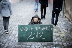 End of the world Stock Photography