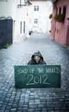 End of the world. 2012 Stock Images