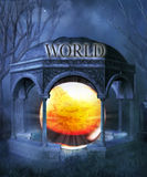 The end of the world Royalty Free Stock Photo