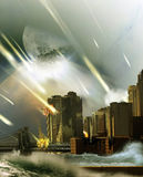 End of the World stock illustration