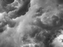 End-of-world sky. Storm, weather, rain royalty free stock photo