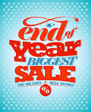 End of year pre-holidays sale. Royalty Free Stock Images