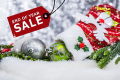 End of Year sale Royalty Free Stock Photos