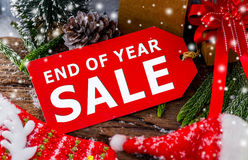 End of Year sale Stock Photos